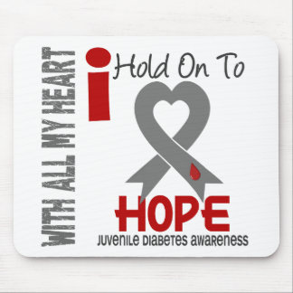 Juvenile Diabetes I Hold On To Hope Mouse Pad