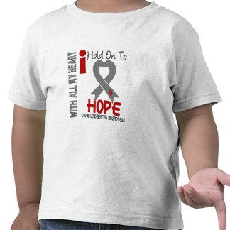 Juvenile Diabetes I Hold On To Hope Tshirts