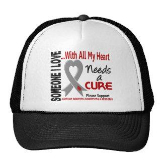 Juvenile Diabetes Needs A Cure 3 Trucker Hat