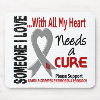 Juvenile Diabetes Needs A Cure 3 Mouse Pad