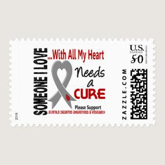 Juvenile Diabetes Needs A Cure 3 Postage