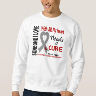 Juvenile Diabetes Needs A Cure 3 Sweatshirt