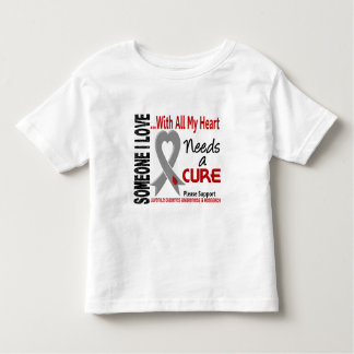 Juvenile Diabetes Needs A Cure 3 Toddler T-shirt