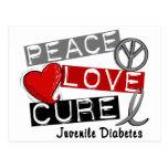 JUVENILE DIABETES POSTCARDS