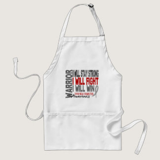 Juvenile Diabetes Warrior Adult Apron