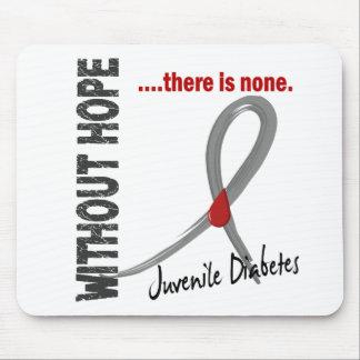 Juvenile Diabetes Without Hope 1 Mouse Pads