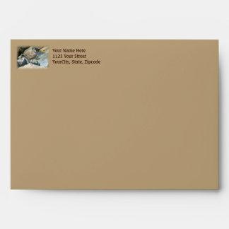 Juvenile Great Black-Backed Gull Envelope