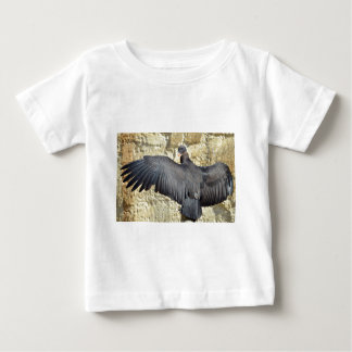 Juvenile King vulture outspread wings Baby T-Shirt