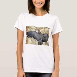 Juvenile King vulture outspread wings T-Shirt