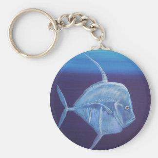 Juvenile Look down fish Key Chains