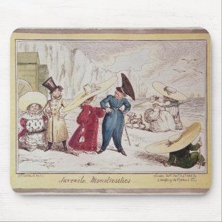 Juvenile Monstrosities, 1825 Mouse Pad
