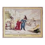 Juvenile Monstrosities, 1825 Postcard