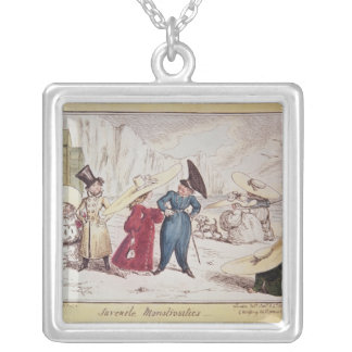Juvenile Monstrosities, 1825 Silver Plated Necklace
