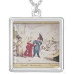Juvenile Monstrosities, 1825 Square Pendant Necklace