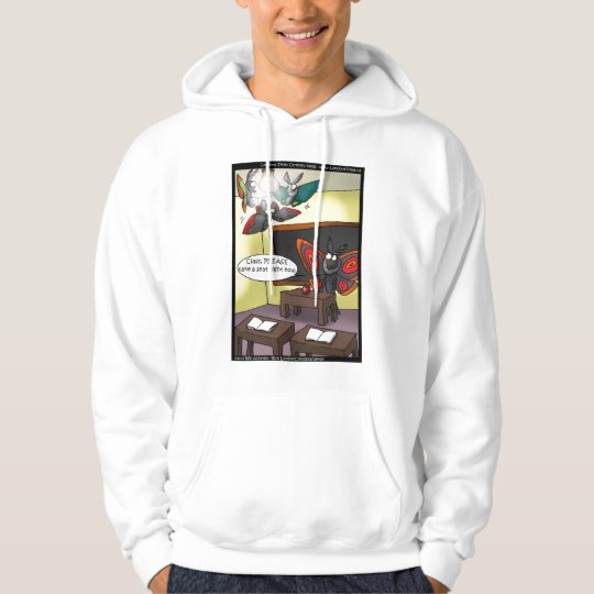Juvenile Moths Funny Hoodies by Rick London