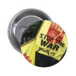Juventud contra guerra y el botón del racismo pins