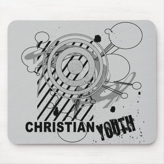 Juventud cristiana alfombrilla de ratones