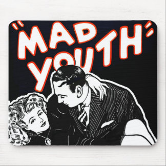 Juventud enojada del jazz del vintage del kitsch tapete de ratones