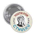 Juventud para Cthulhu Pin Redondo De 1 Pulgada