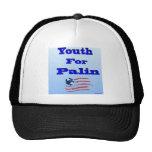 Juventud para el gorra de la bola de Palin
