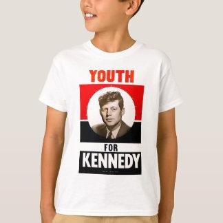 Juventud para presidente John F. Kennedy Playera
