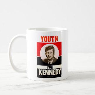 Juventud para presidente John F. Kennedy Taza Clásica