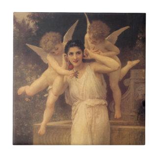 Juventud por Bouguereau, ángeles del vintage, arte Tejas
