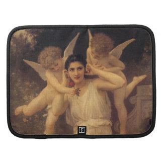 Juventud por Bouguereau, ángeles del vintage, arte Organizador