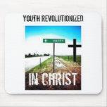 Juventud revolucionada en Cristo Mousepad Alfombrillas De Ratones