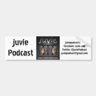 juvie Logo Bumper Sticker