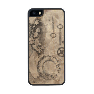 Juxtaposition II Wood Phone Case For iPhone SE/5/5s