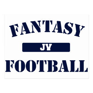 JV Fantasy Football Postcard