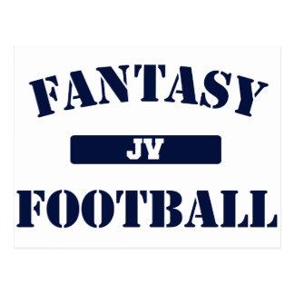 JV Fantasy Football Postcard