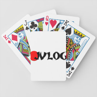 JVLOG BICYCLE PLAYING CARDS