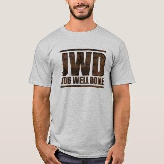 JWD Job Well Done - Wash Design T-Shirt