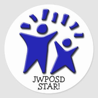 JWPOSD STAR! Stickers 1.5 inch