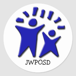 JWPOSD Stickers- 3 inch Classic Round Sticker