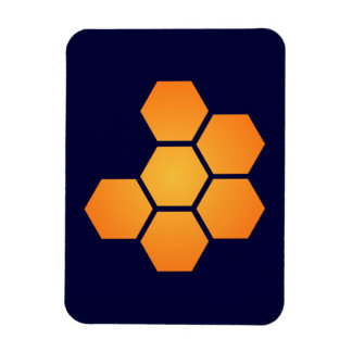 JWST icon (no text) Rectangle Magnets