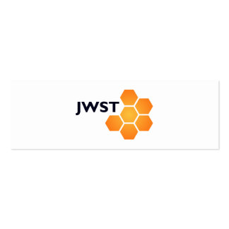 JWST on white Double-Sided Mini Business Cards (Pack Of 20)