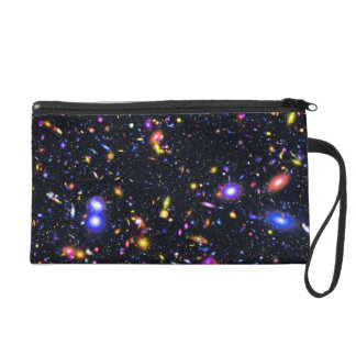 JWST Simulation Pop Art Wristlet Purse