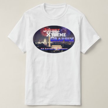 """Professional Business JXG """"An American Business"""" White T-shirt"""
