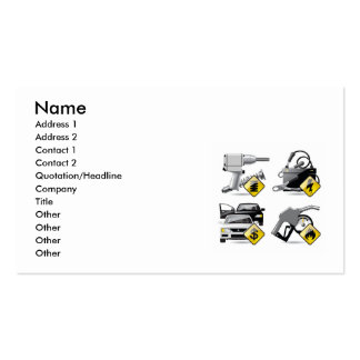 jy1, Name, Address 1, Address 2, Contact 1, Con... Double-Sided Standard Business Cards (Pack Of 100)