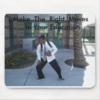 Jy Poster Shots 008, Make  The  Right  Moves   ... Mouse Pad