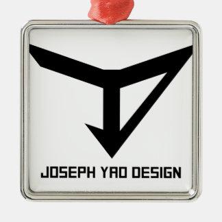 JYD Logo Metal Ornament