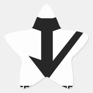 JYD Logo Star Sticker