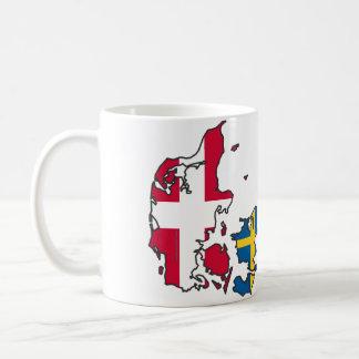 Jylland & Fyn - Det rigtige Danmark Krus Mugs