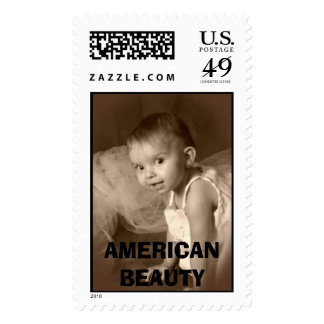 k28, AMERICAN BEAUTY Postage Stamps