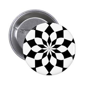 ` K2 del caleidoscopio SQ' Pin Redondo De 2 Pulgadas