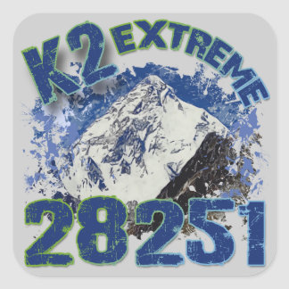 K2 Extreme 28251 Square Sticker