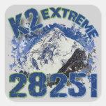 K2 extremo 28251 pegatinas cuadradases